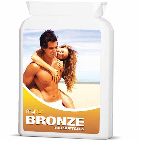 MyTan Bronze Sunless Tanning Pills