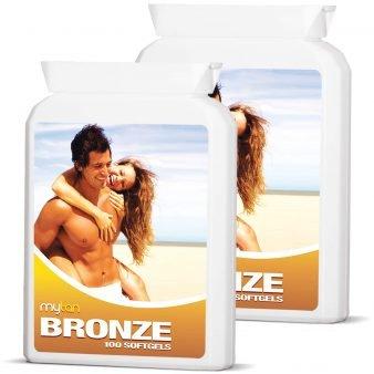 MyTan Bronze Sunless Tanning Pills Twin Pack